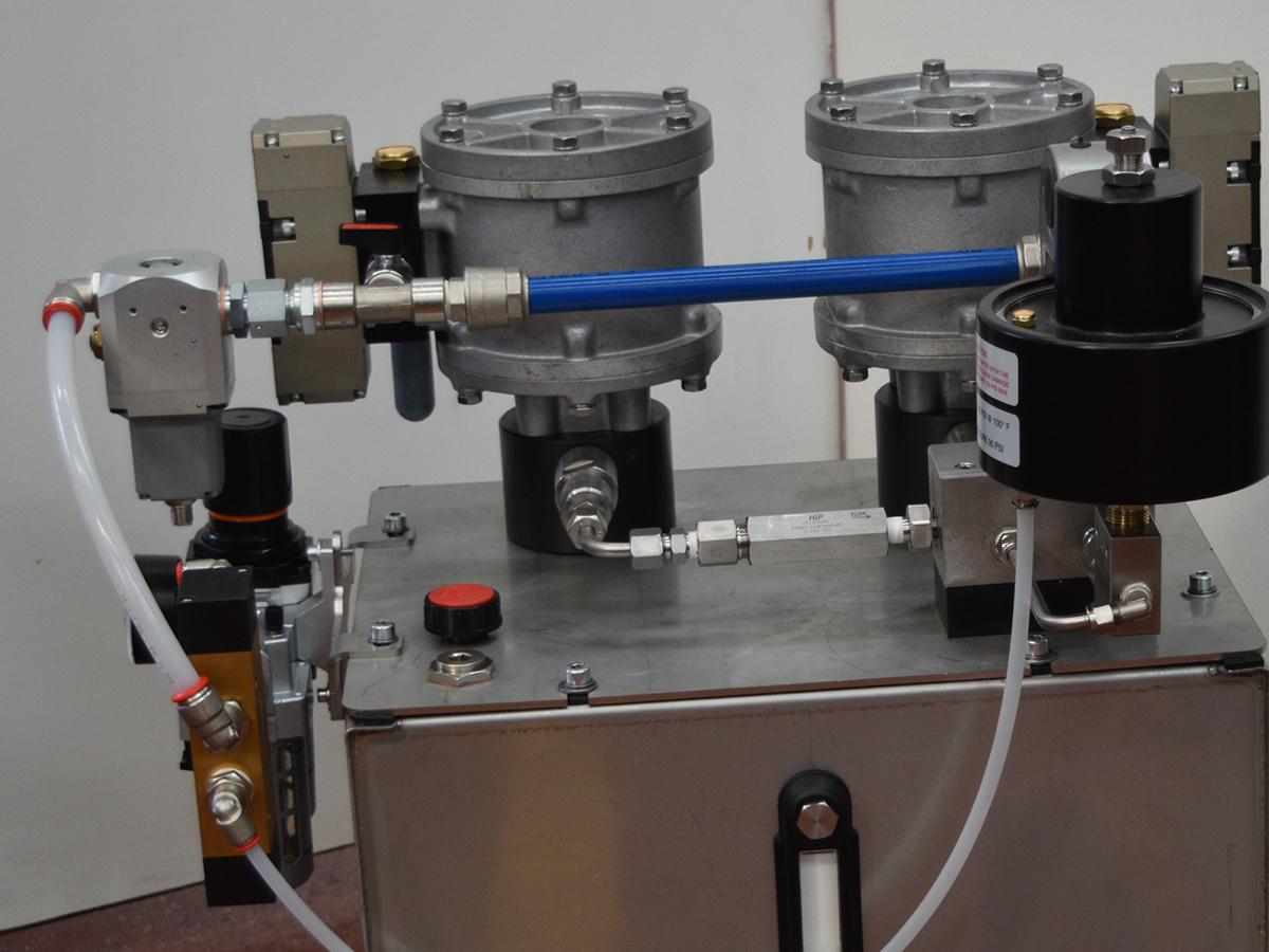 centrale a comando pneumoidraulico 850 bar