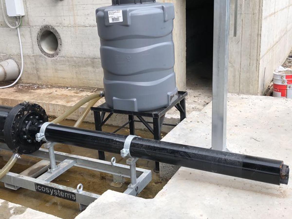 impianto comando pompe alternative