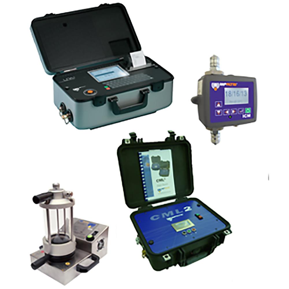 misuratori di contaminazione olio idraulico