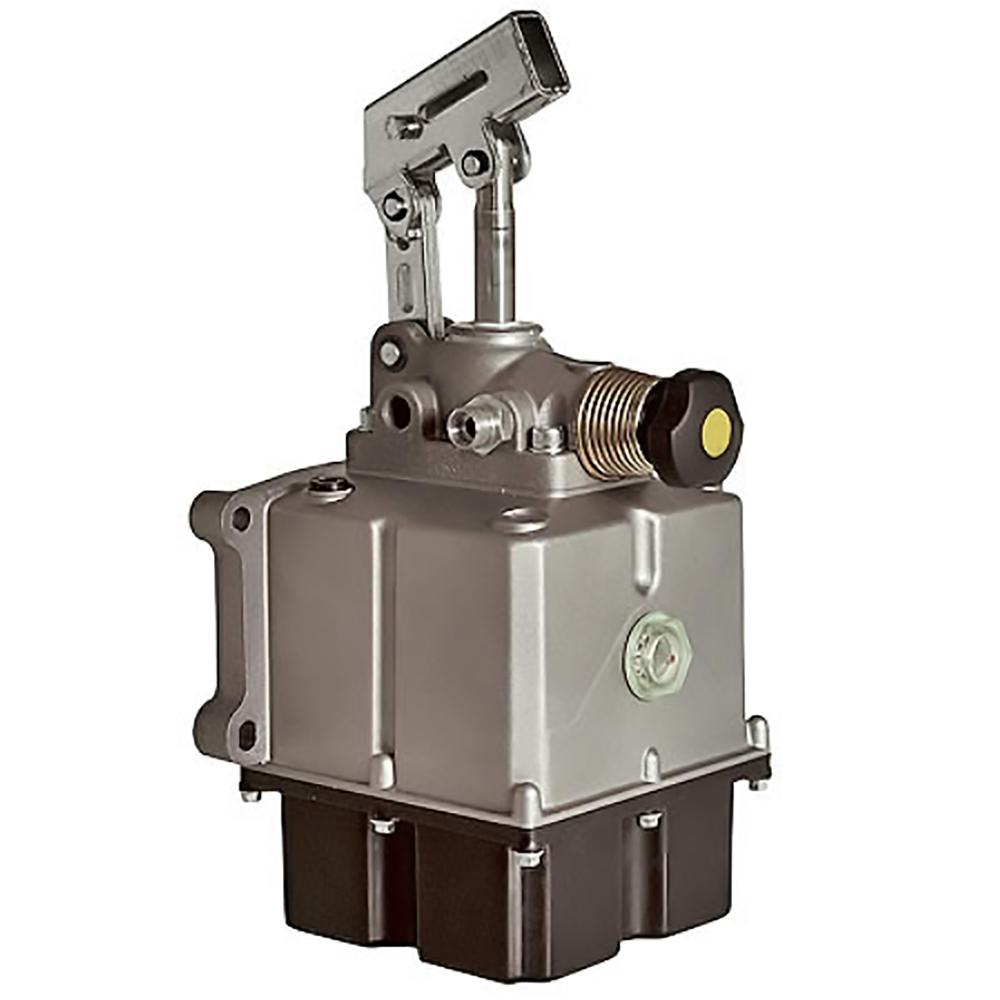 pompa manuale con serbatoio alluminio plastica ptfe