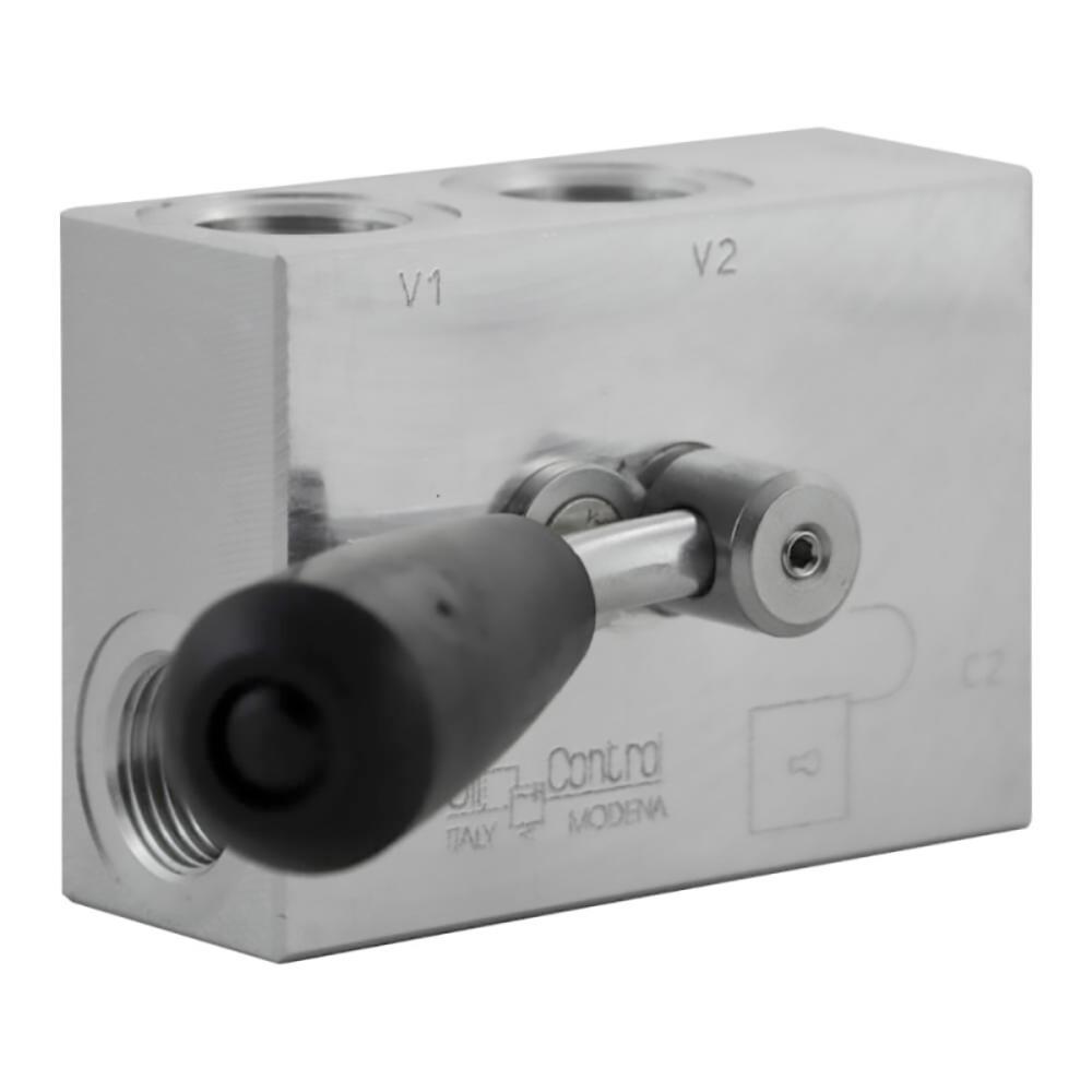 valvola per cilindro stabilizzatore